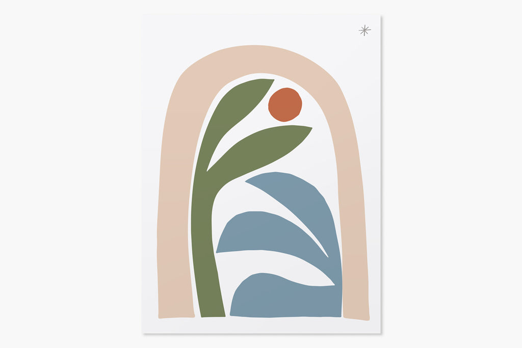 New Growth Print No. 6