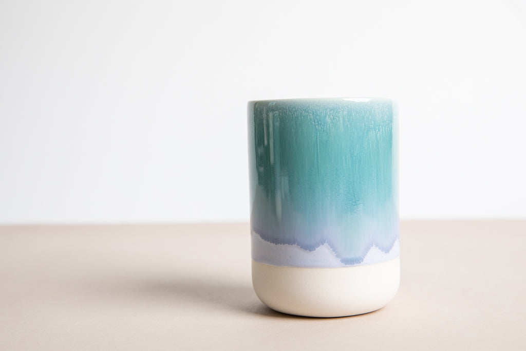 Slurp Cup Set of Two - Periwinkle & Green