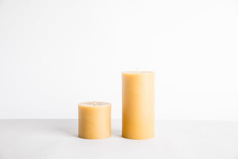 Favorite Beeswax Pillar - Tall or Short