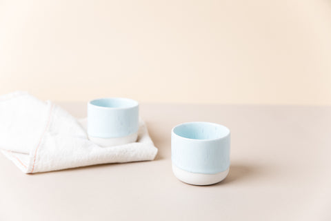 Sip Cup Set of Two - Pale Sky Blue