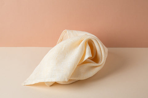 Linen Kitchen Towel - Sunshine