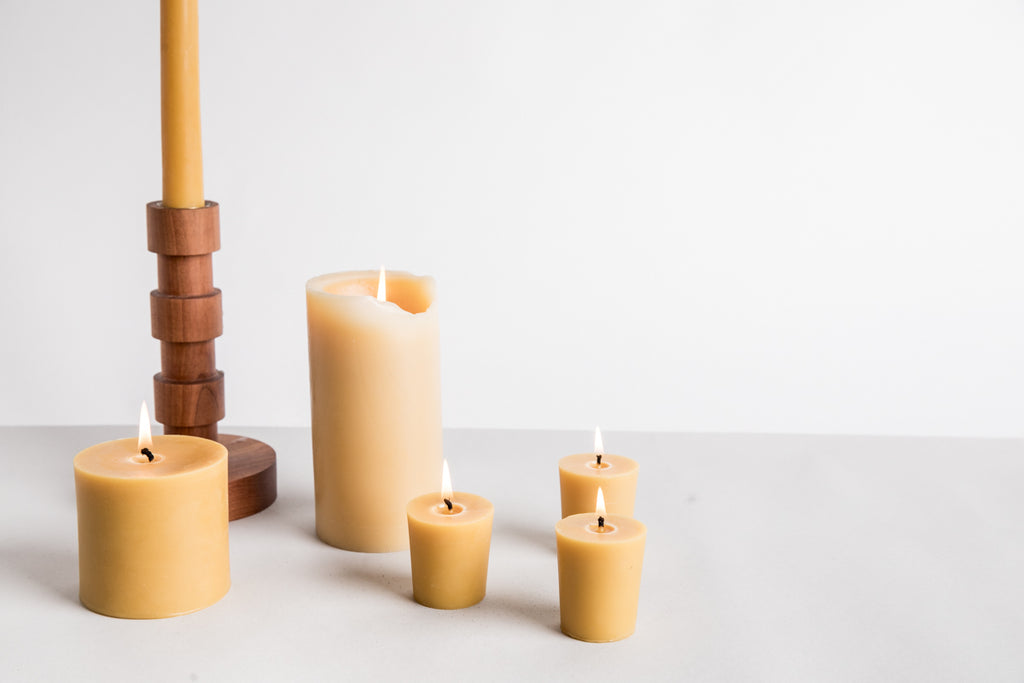 Favorite Beeswax Votive