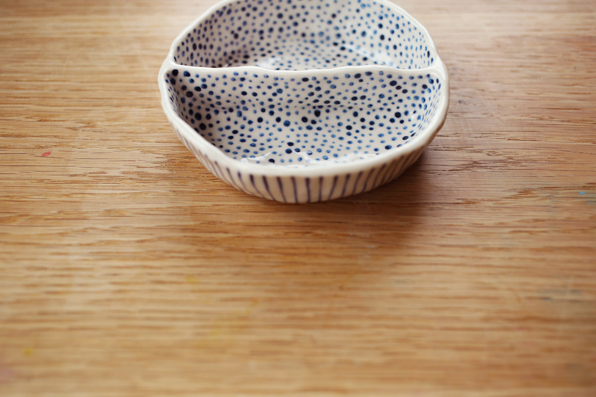 Pattern Party Dish - Little