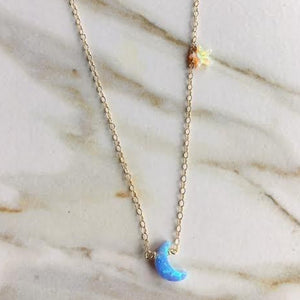 Confetti Opal Neverland Necklace