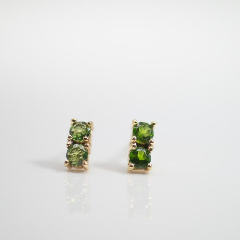 Double Pave Studs