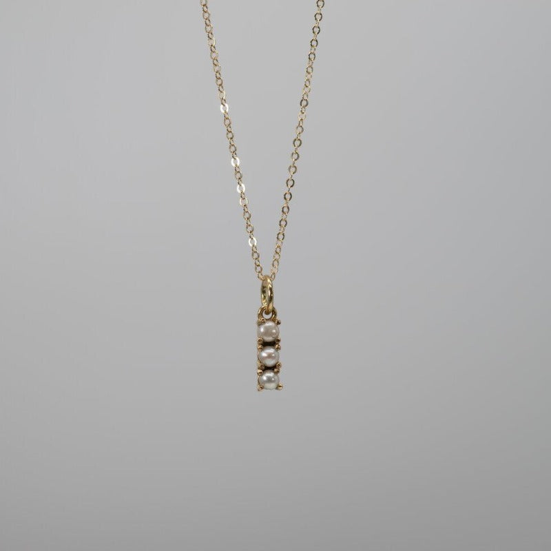 Triple Pave Necklace