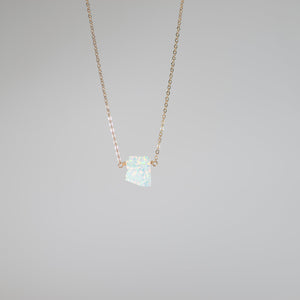 Confetti Opal State Necklace