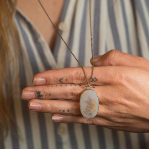 Scenic Quartz Necklace