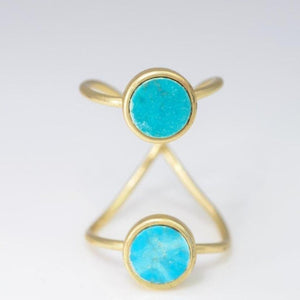 Circle Double Duo Ring