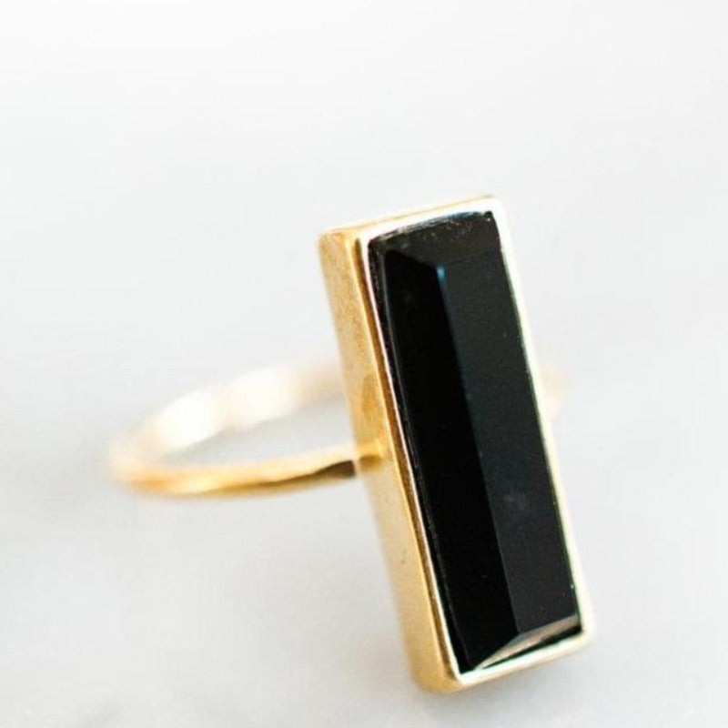 Gem Bar Ring