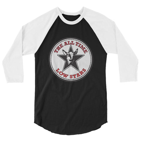 The All Time Low Stars 3/4 sleeve raglan shirt