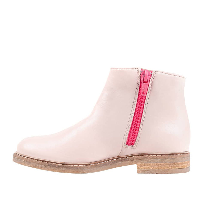 Bottines rose poudré