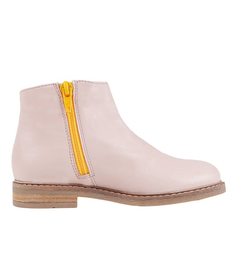 Bottines filles rose