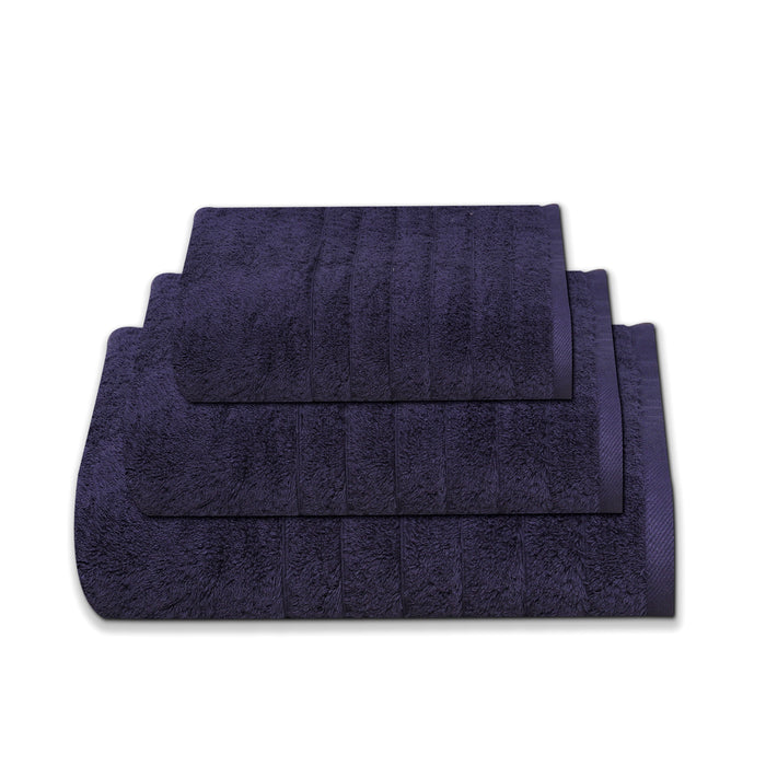 Hotel Quality Bath Towel Navy Blue 750 GSM 100% Cotton