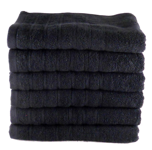 egyptian cotton black bath sheets