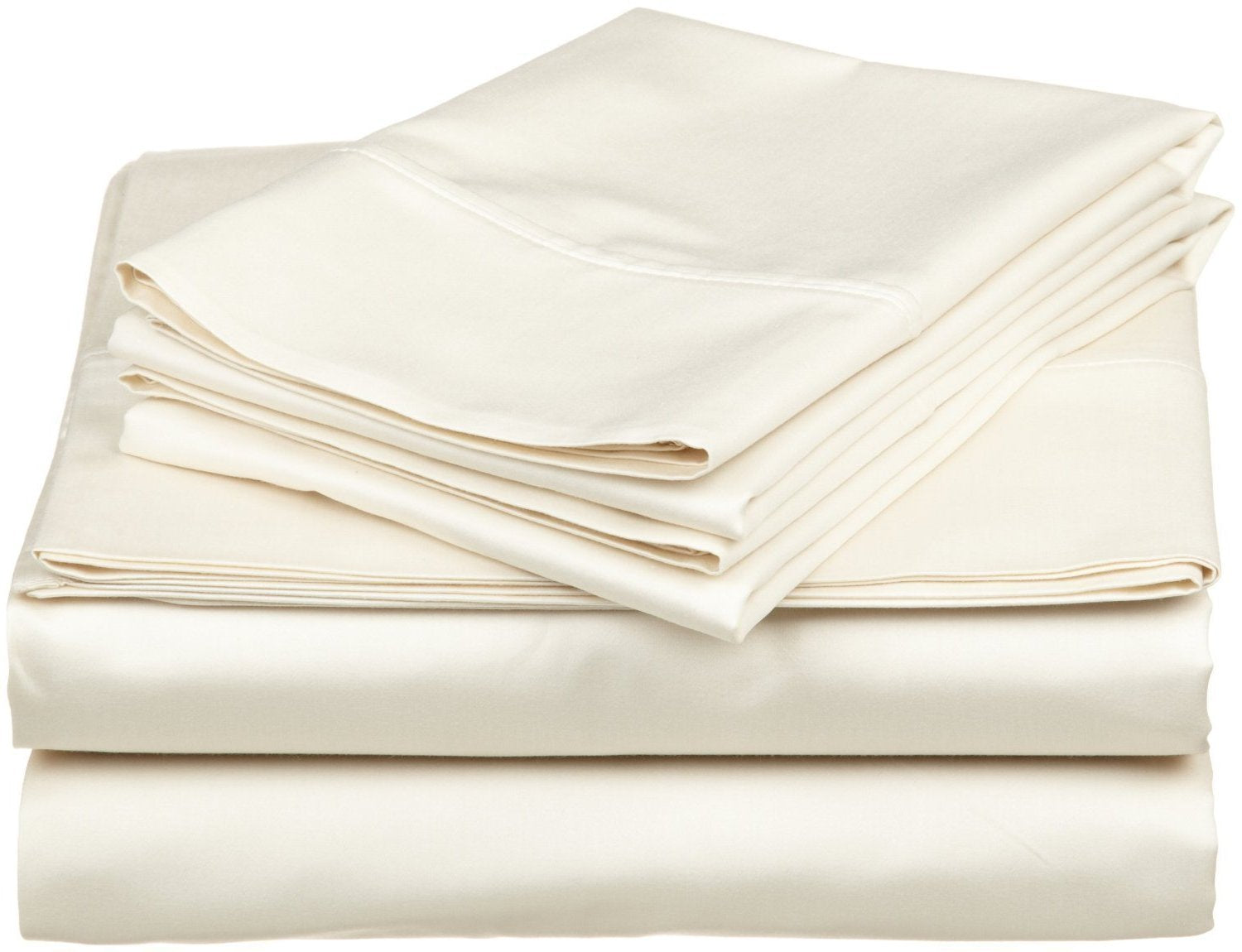 ivory egyptian cotton fitted sheet king size