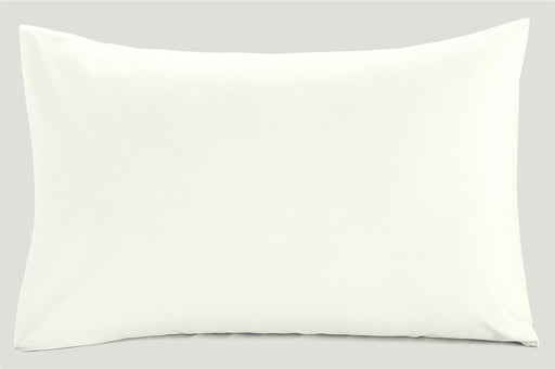 6 Foot Pillow Case Cream - 200 TC Percale