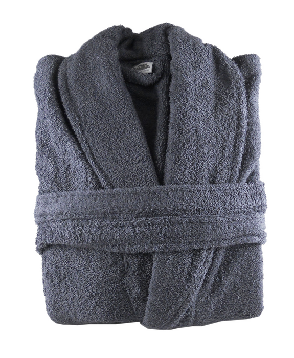 Mens Womens Turkish Cotton Towelling Bathrobe Dressing Gown