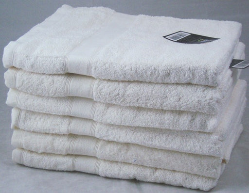 Ivory cream hand towels