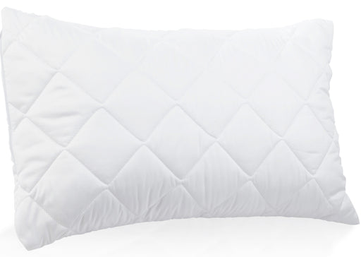 "Emperor Size 21"" x 43"" Quilted Pillow Protectors Pack of 2"