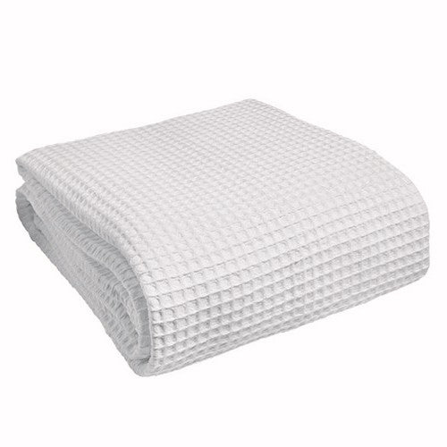 Off White Waffle Bath Sheet 100% Cotton 575gsm (Seconds)