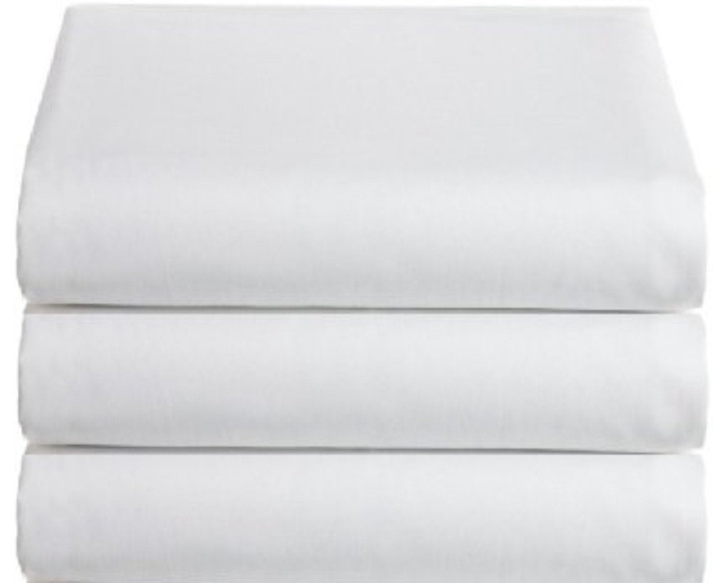 Single Size 3 pce Sheet Set White 200 Tc