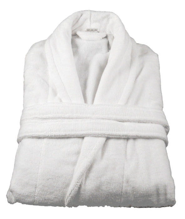 Turkish Cotton Towelling Bathrobe Dressing Gown 5 Sizes 14 Colours