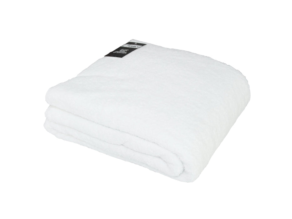 500gsm White Hand and Bath Towels 100% Cotton OEKO-TEX Standard 100