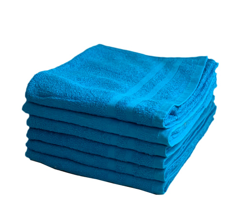 turquoise hand towels
