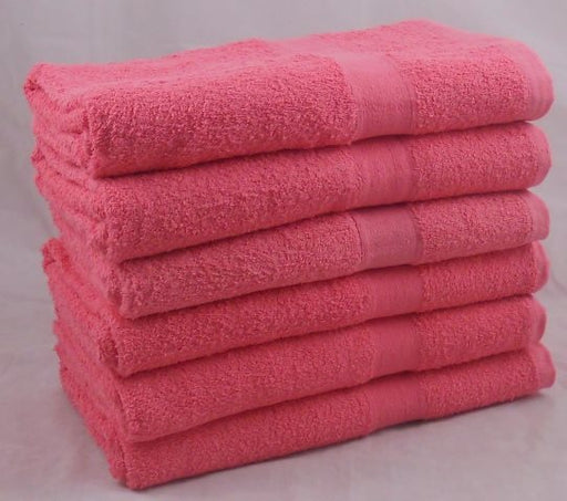 Dark Pink Bath Sheet 100% Cotton 450 gsm (Seconds)