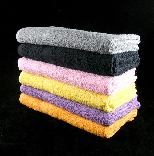 Orange Bath Towels Extra Large 100% Cotton 350 GSM Pack of 3