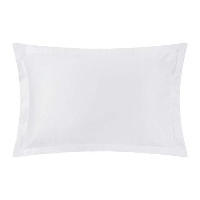 Oxford Super King Size Pillowcase Pair White Egyptian Cotton 400Tc