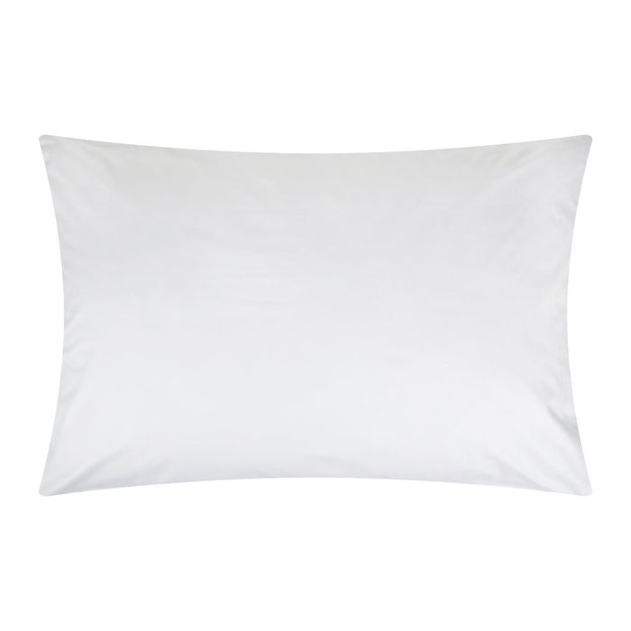 Emperor Pillowcase Pair White Egyptian Cotton 400Tc