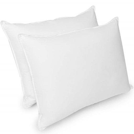 "Super King Pillows Pack of 2 Goose Feather and Down 20"" x 36"""