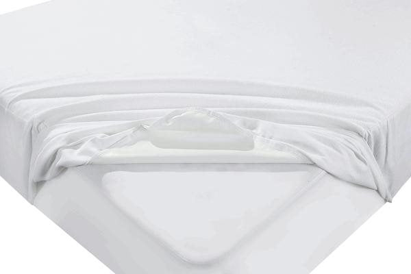"Cot Bed Waterproof Mattress Protector Terry Towelling 12"" Extra Deep"