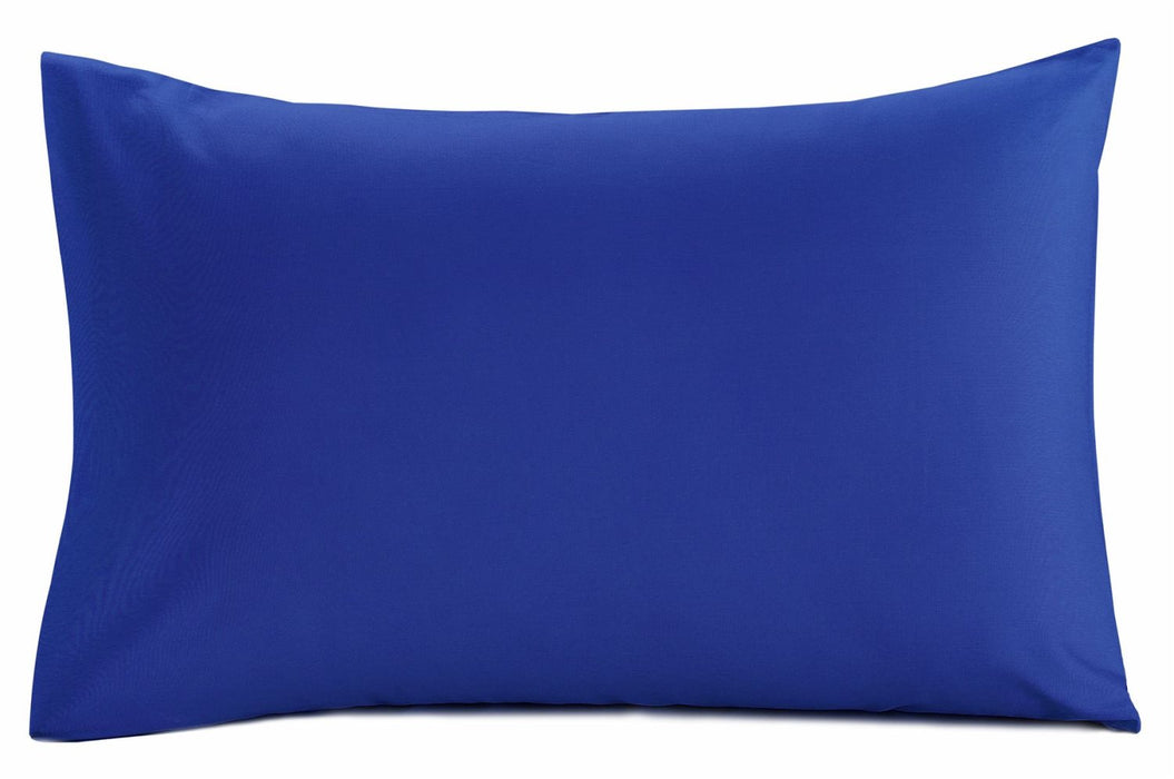 Navy Blue Pillowcase Pair 150 TC