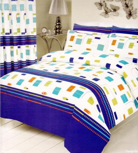 Multicoloured Duvet Cover Set King Size - Fantasy