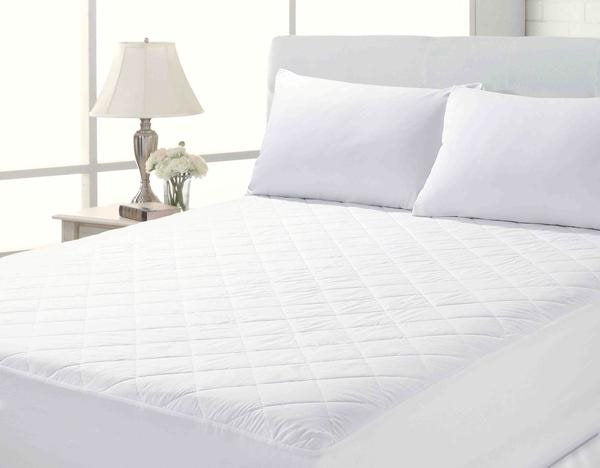 "Electric Bed Size Luxury Mattress Protector Quilted 12"" Deep 3ft x 6ft 6in"