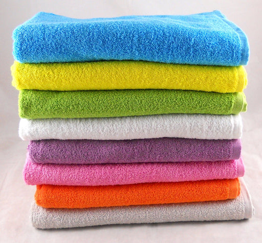 Green Bath Sheets 100% Cotton 420gsm Pack of 3
