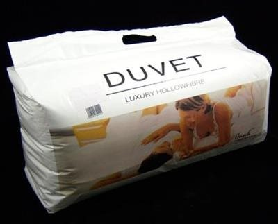 Double Hollowfibre Duvet 13.5 Tog