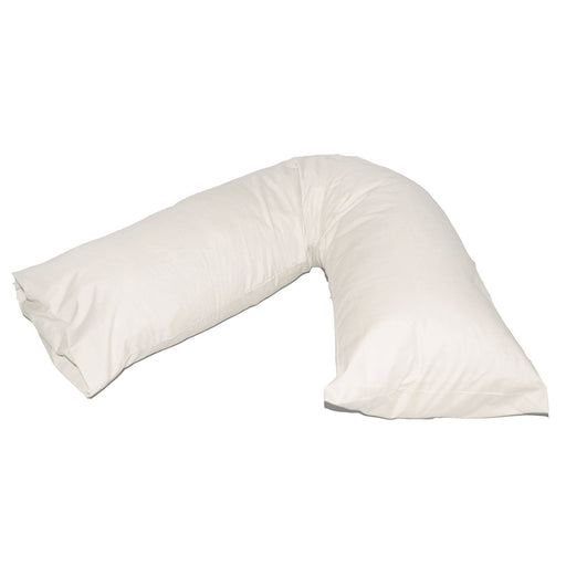 V Shaped Pillowcase Cream Easy Fit