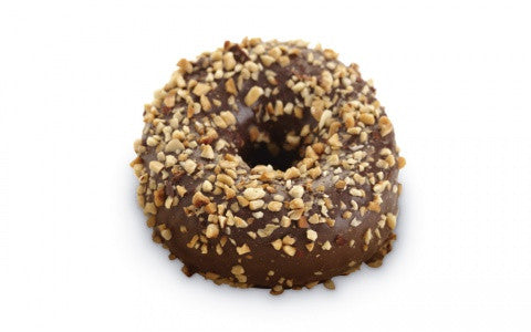 Chocolate hazelnut donut