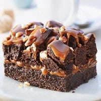 Brownie caramel pecan nut 125 gram!!.