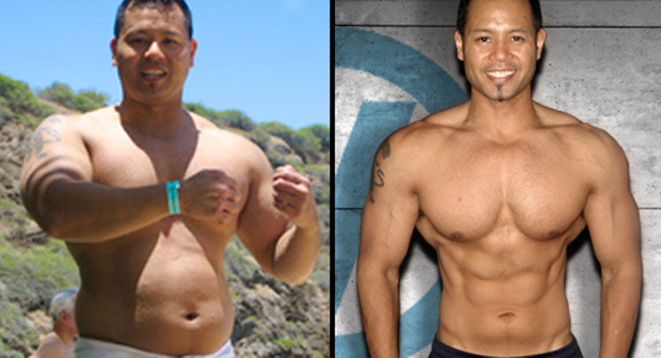 Gus Pancho before and after photos.