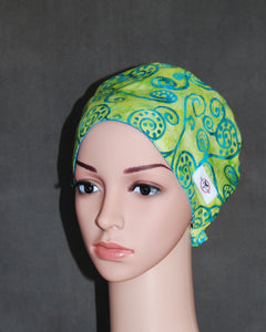 Women's Two Snappi™ Satin Scrub Hats