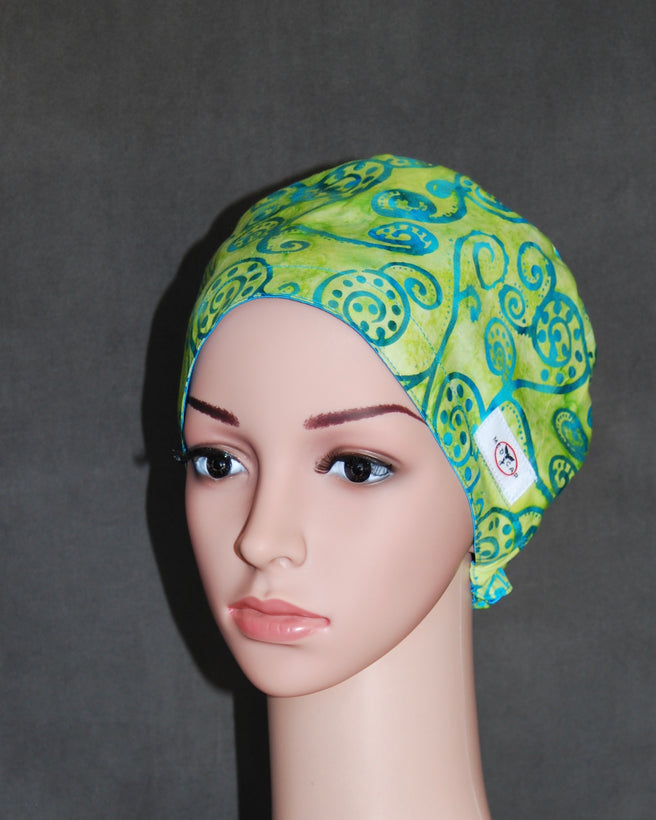 Women's Snappi Two Satin Scrub Hat