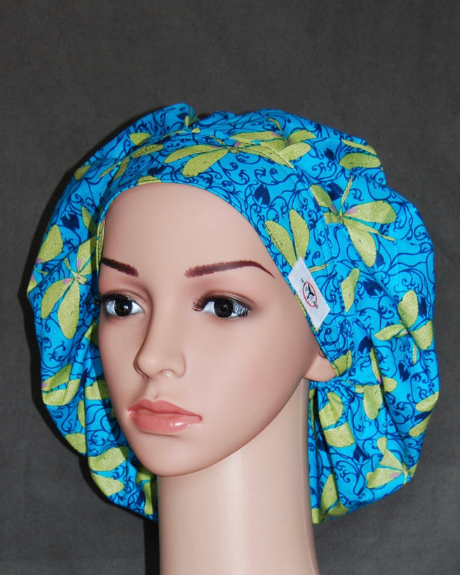 Women's Bouffant Scrub Hats with Sweatband