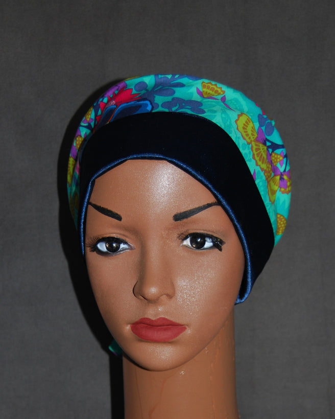 Women's Duet Satin Double Scrub Hats