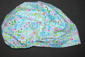 Garden of Dreams Bouffant Scrub Hat