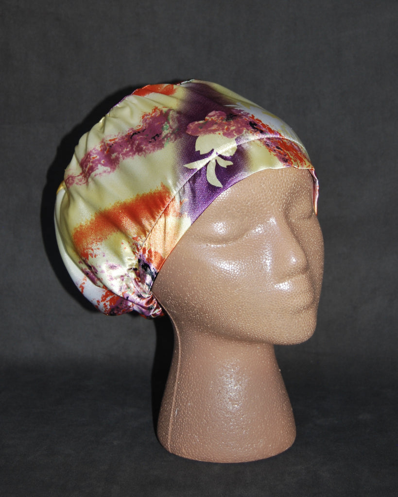 Colors Splash Dreams Satin Scrub Hat